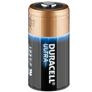10x Duracell Ultra Lithium 123 (CR17345) - lose Ware