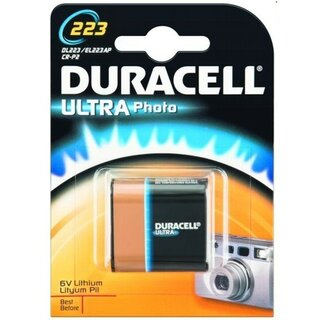 Duracell Ultra Lithium 223 (CR-P2) Blister