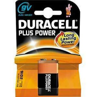 Duracell Plus Power-9V (MN1604/6LF22) 1er Blister