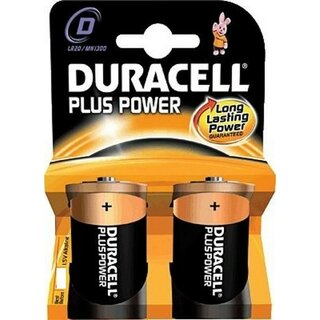 Duracell Plus Power-D (MN1300/LR20) 2er Blister