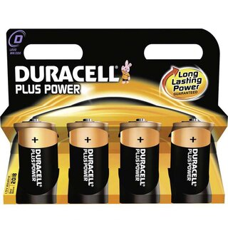 Duracell Plus Power-D (MN1300/LR20) 4er Blister